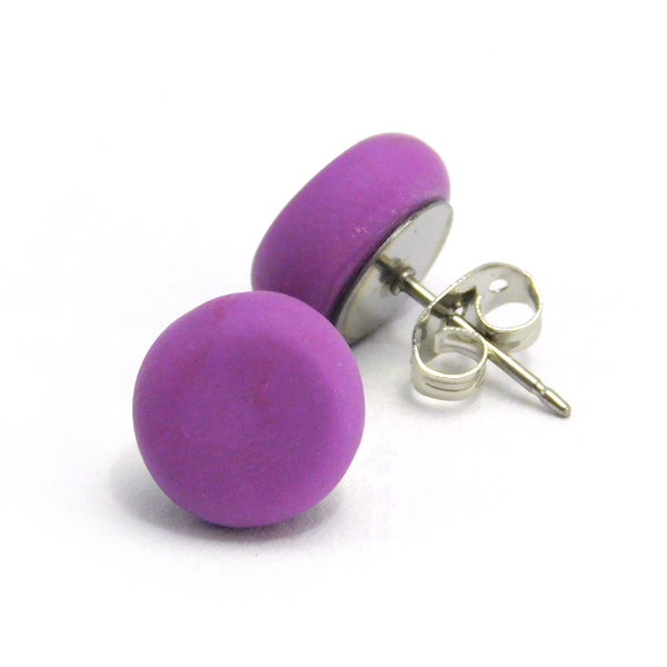 Wisteria Polymer Stud Earrings