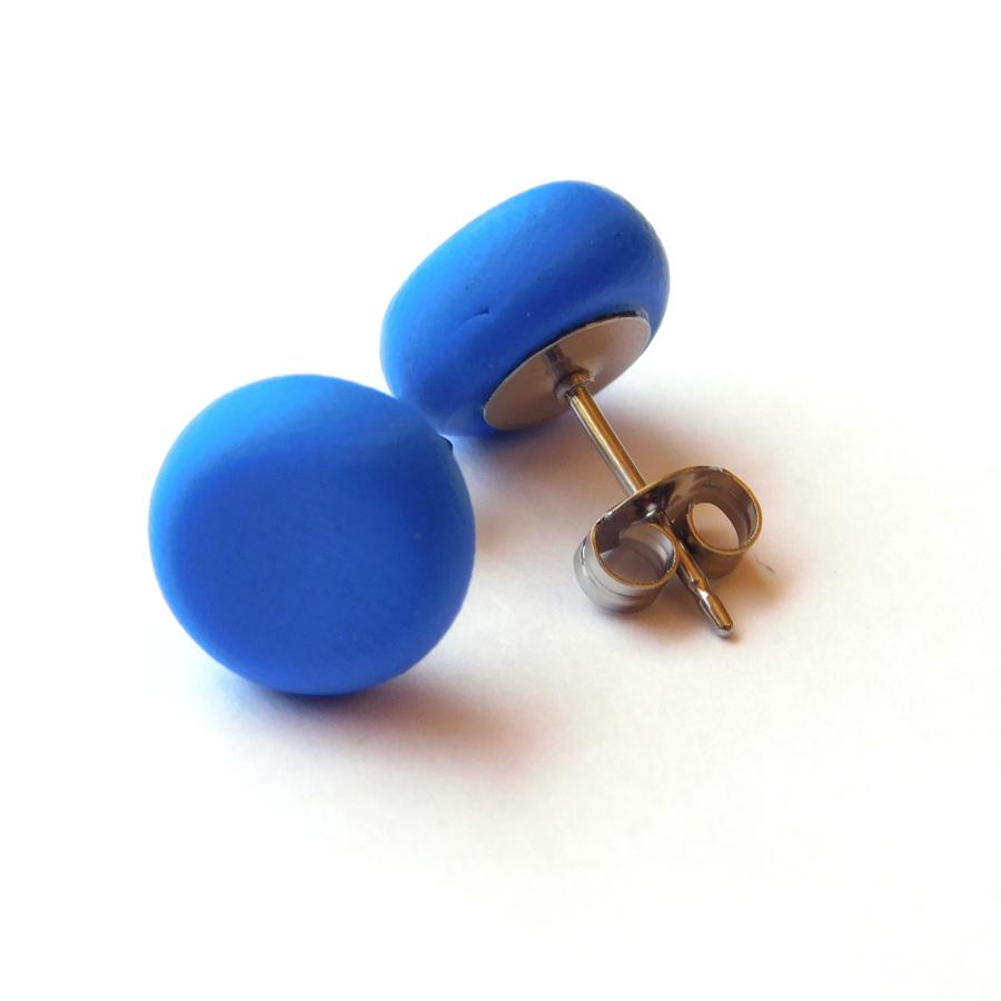 Cobolt Blue Polymer Spot Studs