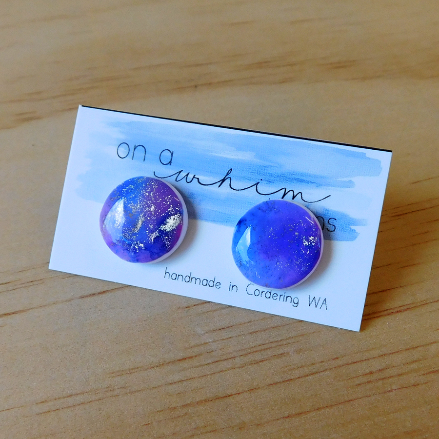 Round Studs - Nebula