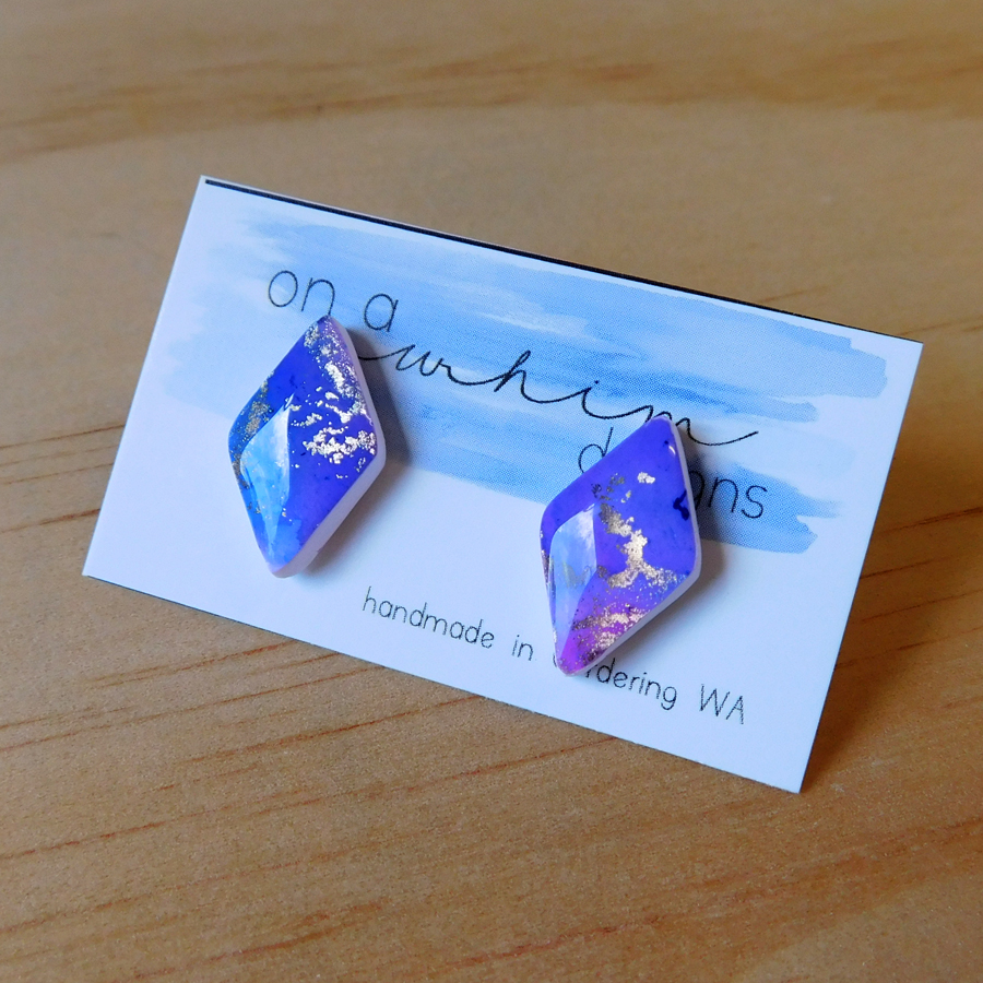 Diamond Studs - Nebula