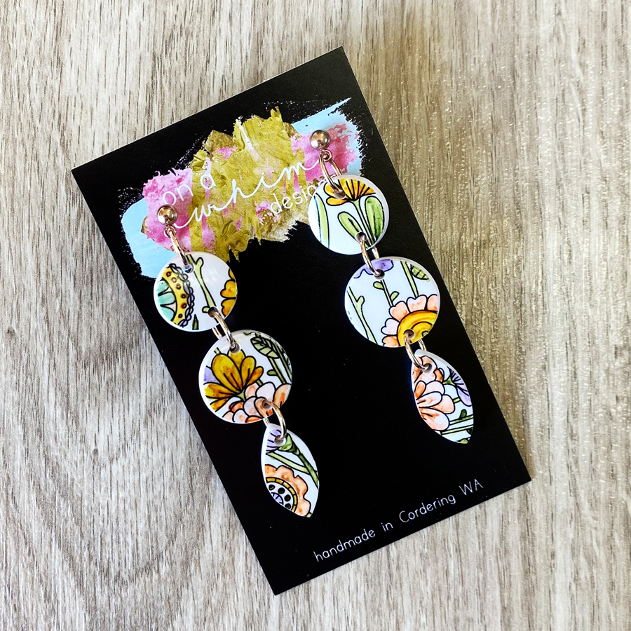 Floral Whimsy - Dangles