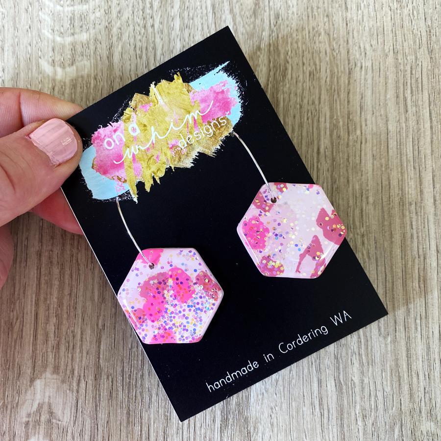 ZOEY Range -Glitter Pink